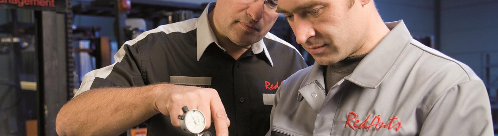 RedAnts Mitarbeiter Kontrolle und Prüfung